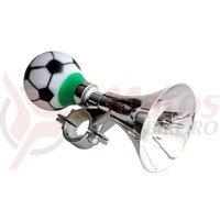 Sonerie trompeta cromata cu bila minge fotbal