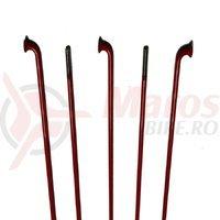 Spite CN Spoke inox 2x251mm rosii 100 buc
