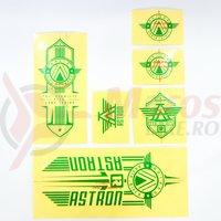 Sticker Radio ASTRON verde