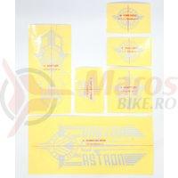 Sticker Radio ASTRON zinc