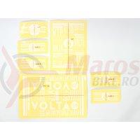 Sticker WTP Volta alb