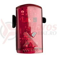 Stop Axa Greenline USB 1 led rosu