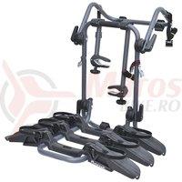 Suport auto Pure Instinct pentru 3 biciclete negru