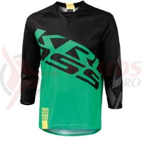 Tricou barbat enduro 3/4 Kross Hyde green