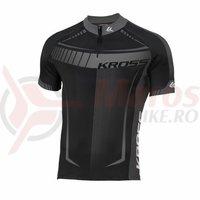 Tricou barbat Kross Black Edition graphite