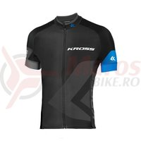 Tricou barbat Kross RACE blue