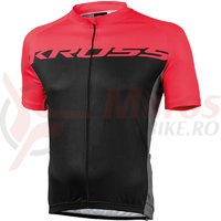 Tricou barbati Kross Flow red