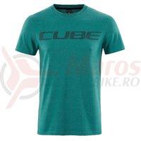 Tricou Cube T-shirt Logo Green