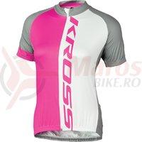 Tricou dama Kross Flow Lady pink
