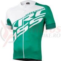 Tricou Kross Rubble green-white