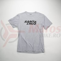 Tricou Santa Cruz Logo Tee T-Shirt Grey
