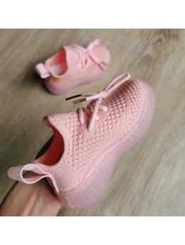 Adidasi cu LED comozi roz
