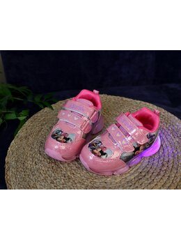 Adidasi cu LED Minnie