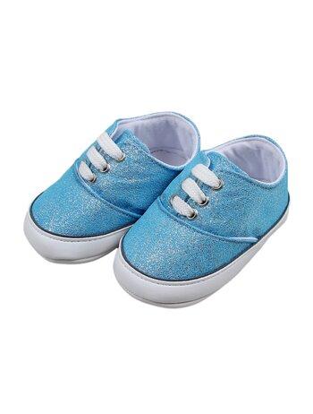 Adidasi cu sclipici model bleu