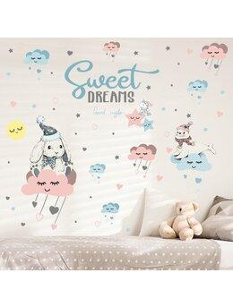Autocolant de perete sweet dreams 82x100cm