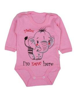 Body ml elefant coral roz
