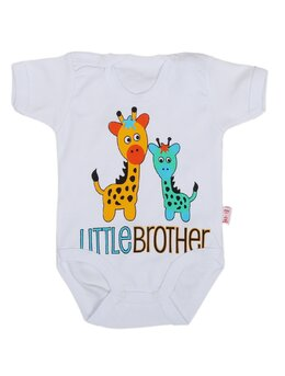 Body ms doua girafe alb