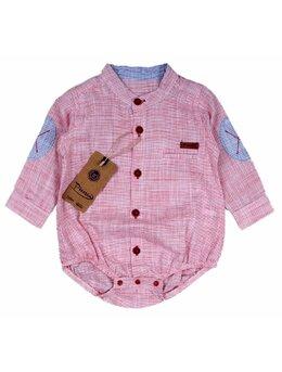 Body stil camasa model rosu