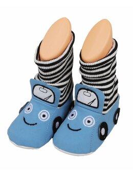 Botosei înalți tip șoseta model albastru