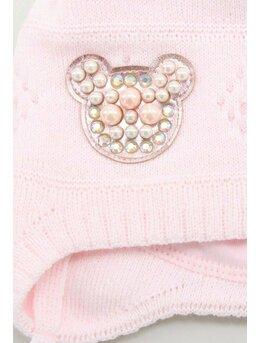 Caciulita fetita Lesia roz pal