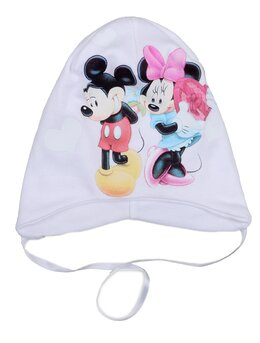 Caciulita Minnie&Mickey alba