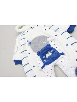 Combinezon bear albastru