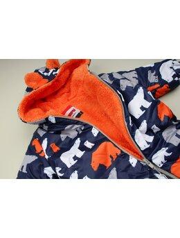 Combinezon de fas ursuleti model portocaliu