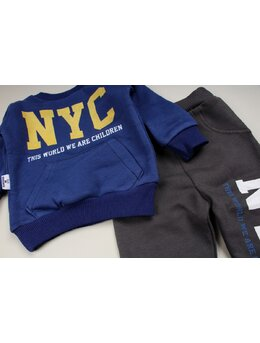 Compleu boy NYC albastru