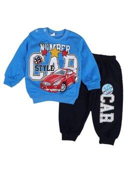 Compleu CAR for boy model albastru