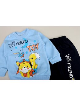 Compleu friend toy bleu