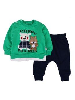 Compleu Happy bears model verde