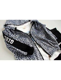 Compleu leopard negru SANI