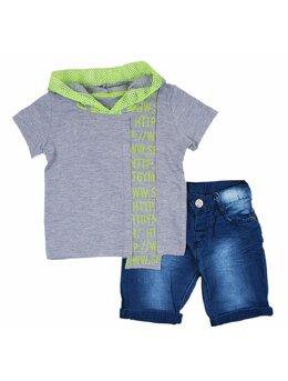 Compleu super boys fashion gri