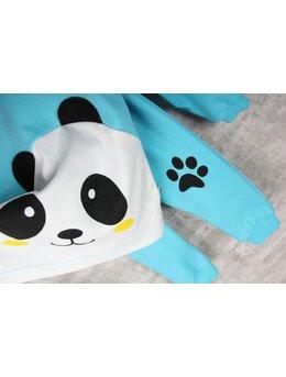 Compleu turcoaz 2 piese panda