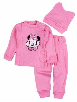 Costum 3 piese Minnie roz