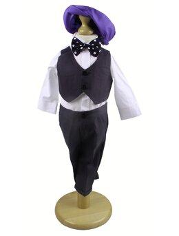 Costum baietei botez model 1