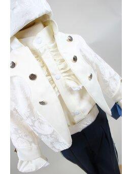 Costum print imperial crem