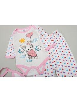 Costumas 3 piese fetita-baby