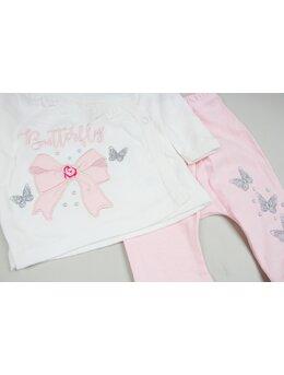 Costumas 3 piese fundite roz