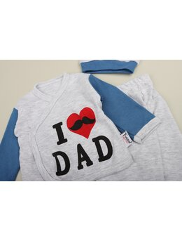 Costumas 4 piese I Love DAD