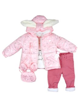 Costumas de iarna iepuras roz