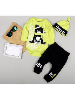 Costumas Hello bear verde
