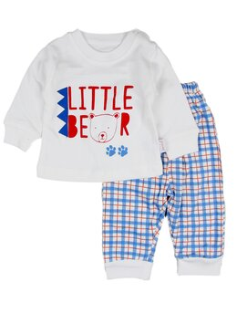 Costumas Little bear albastru
