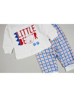 Costumas Little bear albastru