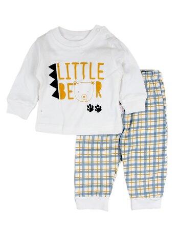 Costumas Little bear bleu