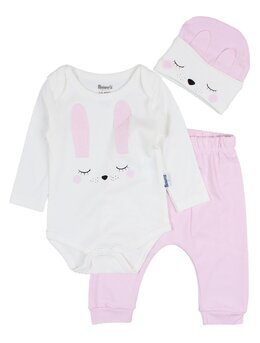 Costumas Miniworld iepuras roz