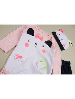 Costumas pisicuta baby fundite roz
