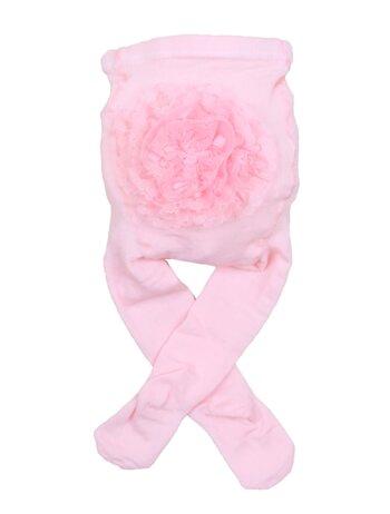 Dres cu pamponas la fundulet roz