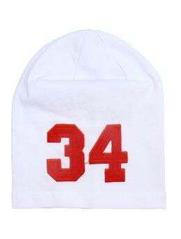 Fes 34 alb-rosu