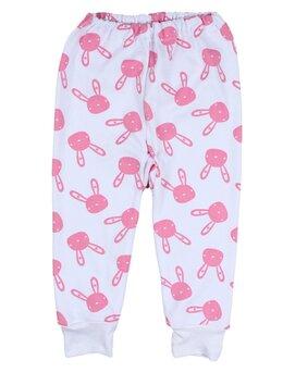 Pantalonasi de pijama iepurasi roz